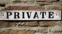 Private Profile: Keep Out!