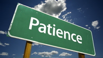 Patience is a Change Virtue